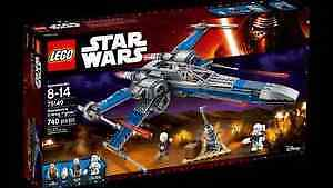 lego Star Wars 75149 - Resistance X-wing fighter - Neuf