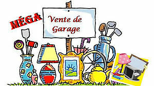 Vente de garage, Saint-Mathieu-de-Beloeil