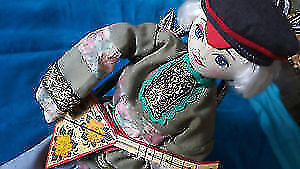 New authentic handmade Russian traditional doll