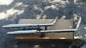 Harley Davidson Softail OEM Stock Chrome Exhaust *NEW*