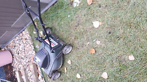 Great condition Compact lawnmower