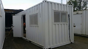Shipping Container Modification - Office/Shop/Studio