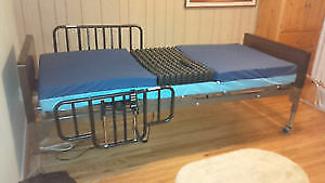 Hospital BED WITH ROHO - INSERT+Pump Fully Electric Hospital Bed