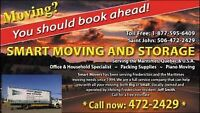 SMART MOVERS 472-2429 Local & Quik Service to Quebec & Ontario