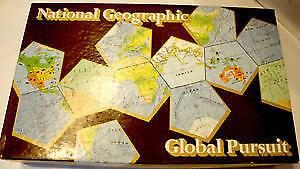 Vintage National Geographic Global Pursuit board game (1987)