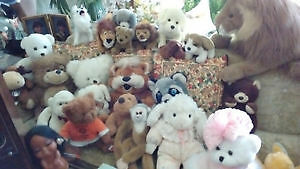 Stuffed Animal Collection -- Vintage---$9. each
