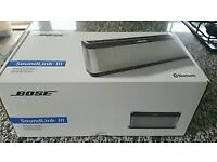 BOSE speaker Soundlink III ( 3 ) BLUETOOTH NEW