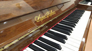 August Hofmann Used Upright Piano For Sale - Like New
