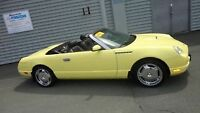 2002 Ford TBird Convertible . MUST GO