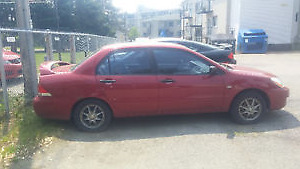 2006 Mitsubishi Lancer ES Berline À QUI LA CHANCE/ NEGOCIABLE