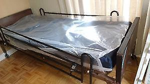 New in Box 50% OFF Hospital bed with medical Mattress