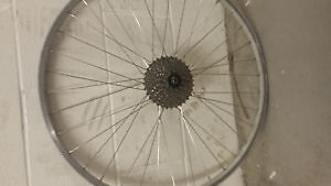 shimano 9 speed bike wheel $40 !!!!!!!!!!!!!!