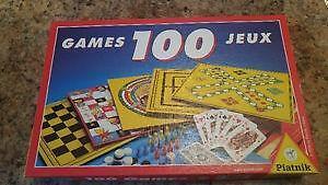 100 Jeux De Société En 1 - 100 Board Games in 1 - BESTCOST.CA