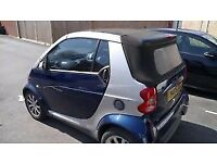 2005 SMART FOR TWO CONVERTIBLE 43000 MILES only LONG MOT 995