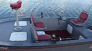 Dambuster 380 - Ultra-Strong Composite fishing boat