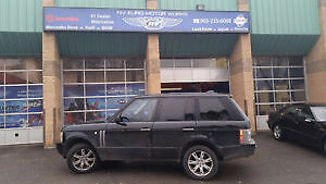 Parting out 2005 Range rover Hse 165,000 km