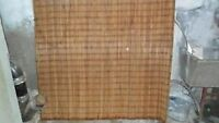 """Large Wood Blind 60 inches """" wide and 70 long"""