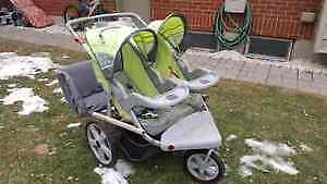 5 Seater Stroller, Double, great for jogging, all weather