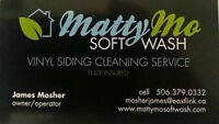 MattyMo Soft Wash Exterior House Washing