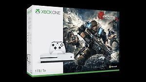 Brand new sealed 1TB Xbox One S Gears of war 4 edition IN STORE