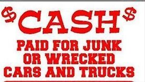 Looking for complete scrap cars and trucks