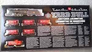 HO Scale Yard Bull Switcher set. Will meet up.
