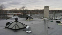 ROOFER- EXPERT- FAST AND FREE ESTIMATE - FLAT ROOF - MEMBRANES -
