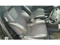 Vauxhall astra vxr interior half leather seats