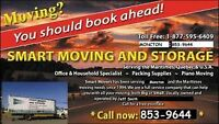 SMART MOVERS 853-9644 Local and Long Distance to Que and Ontario