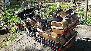 Well maintained Honda GL1200 Goldwing SE LE