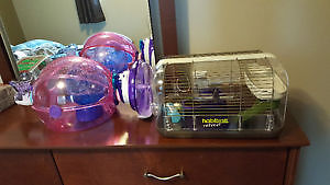 Habitrail Hamster cages and accessories