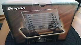 Snap On 80th Anniversary Spanner Display Set - Sealed