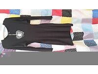 BRAND NEW RRP £22 ASOS Club L black bodycon cut out waist short dress size 10