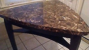 Faux marble Kitchen table-- NEED GONE TODAY!!