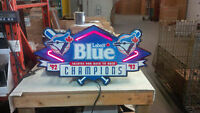 Labatts Blue Blue Jays '92 and '93 Champions Neon Sign