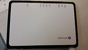 Alcatel Lucent fiber modem