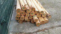 """In search of 5""""- 4""""x12' cleaned cedar fence posts"""
