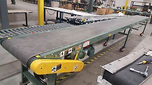 Used conveyors, conveyer assorted Hytrol belted sizes 3ft–41ft