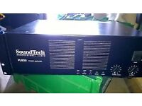 SoundTech PL802 Professional Audio Power Amplifier