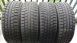 Winter tires on rims - 215-60RT16 95T