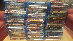 3d & Blu Ray (New & Old) Movies
