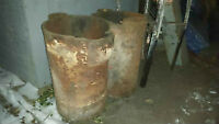 Antique Cast Iron Water Trough Heaters