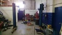 Equipement de garage rotarylift Ford-smith John-Bean Coats