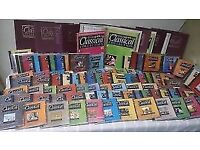 The classical CD collection over 100 classical CD's with beautiful illustrated books