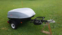 18 ft3 enclosed trailer for motorcycles or small car