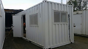 Shipping Container Modification - Office/Home/Shop/Studio