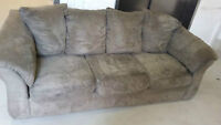 microfiber 3 seater couch delivery included