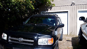 2001 Nissan Pathfinder 4X4 or will trade Kingston Kingston Area image 4