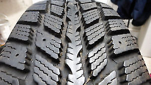 2 NEXEN 231 WINDGUARD 205 55 16 WINTER TIRES PNEUS HIVER