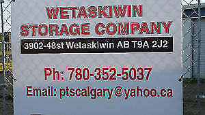 STORAGE IN WETASKIWIN LOWEST RATES